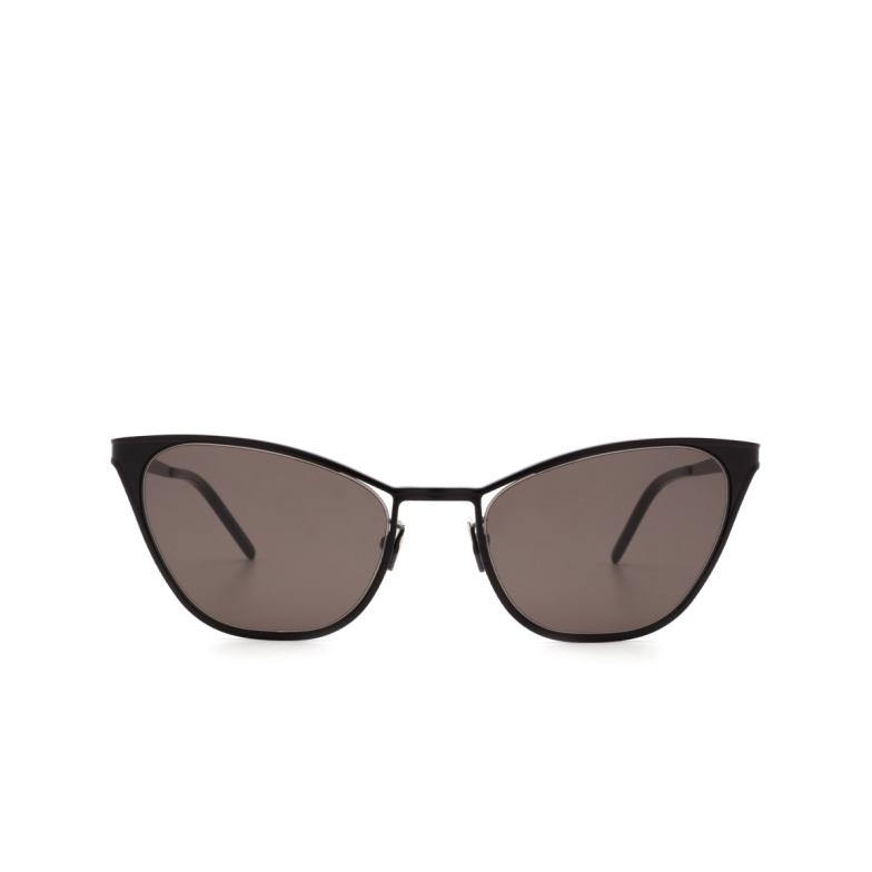 Saint Laurent® Cat-eye Sunglasses: SL 409 color Black 002.