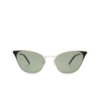 Saint Laurent® Cat-eye Sunglasses: SL 409 color Silver 003.