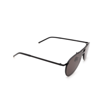 Saint Laurent® Aviator Sunglasses: SL 416 MASK color Black 002.