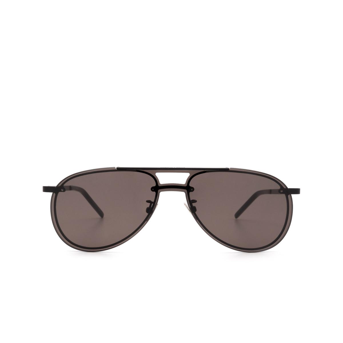 Saint Laurent® Aviator Sunglasses: SL 416 MASK color Black 002.