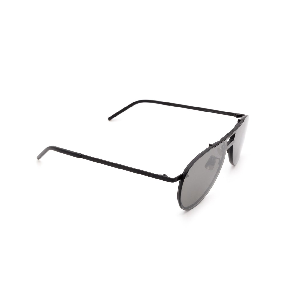 Saint Laurent® Aviator Sunglasses: SL 416 MASK color Black 003.