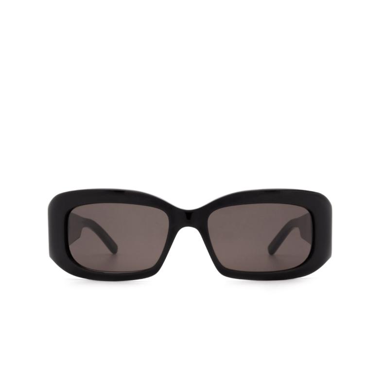 Saint Laurent® Rectangle Sunglasses: SL 418 color Black 001.
