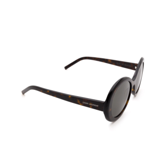Saint Laurent® Round Sunglasses: SL 419 color Havana 003.