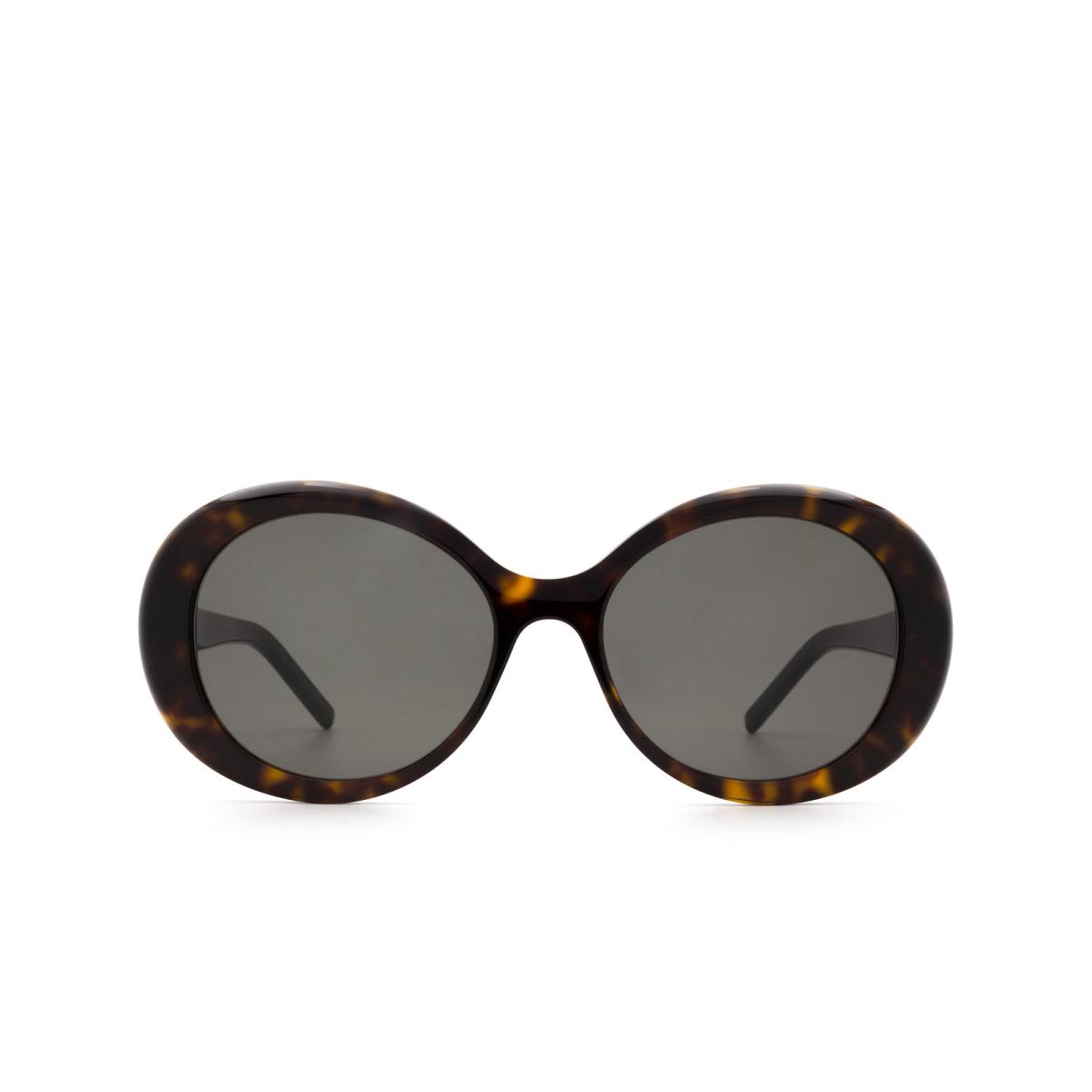 Saint Laurent® Round Sunglasses: SL 419 color Havana 003.