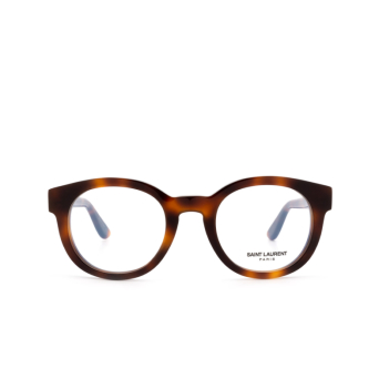 Saint Laurent® Round Eyeglasses: SL M14 color Havana 003.