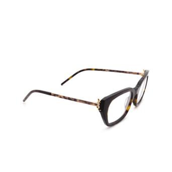 Saint Laurent® Cat-eye Eyeglasses: SL M48 color Havana 004.
