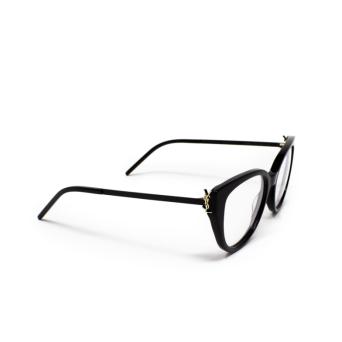 Saint Laurent® Butterfly Eyeglasses: SL M48_A color Black 002.