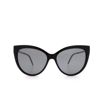 Saint Laurent® Cat-eye Sunglasses: SL M48S_A color Black 003.