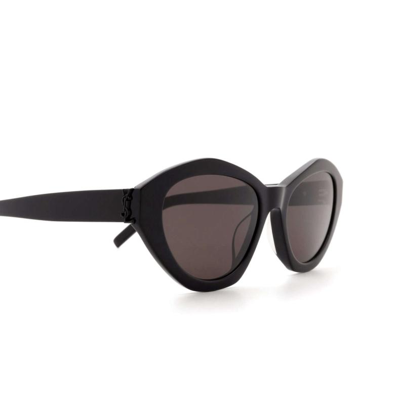 Saint Laurent® Irregular Sunglasses: SL M60 color Black 001.