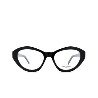 Saint Laurent® Irregular Eyeglasses: SL M60 OPT color Black 001.