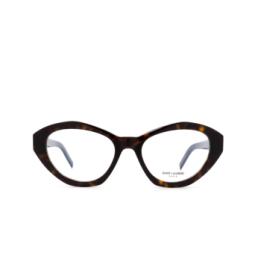 Saint Laurent® Eyeglasses: SL M60 OPT color Havana 002.