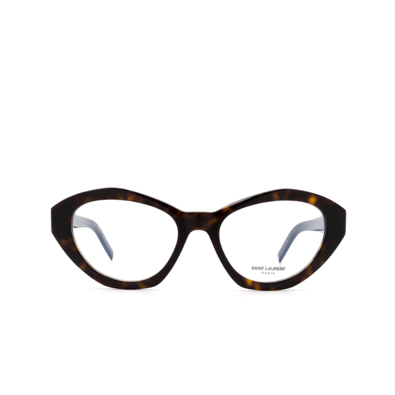 Saint Laurent® Irregular Eyeglasses: SL M60 OPT color Havana 002.