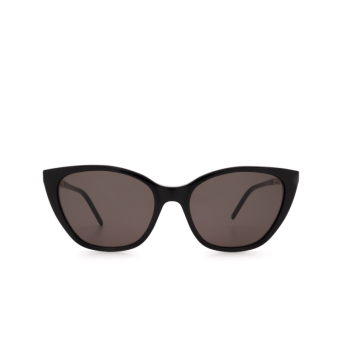 Saint Laurent® Cat-eye Sunglasses: SL M69 color Black 001.