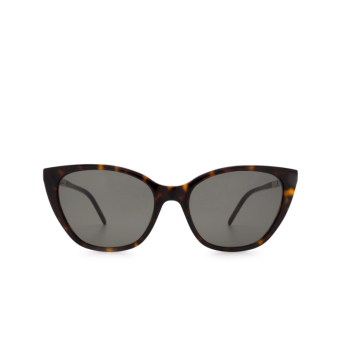 Saint Laurent® Cat-eye Sunglasses: SL M69 color Havana 002.