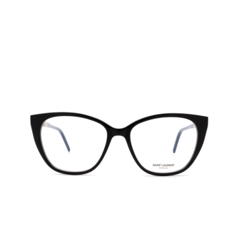 Saint Laurent® Cat-eye Eyeglasses: SL M72 color Black 001.