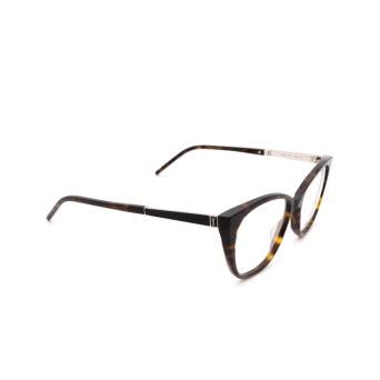 Saint Laurent® Cat-eye Eyeglasses: SL M72 color Havana 003.