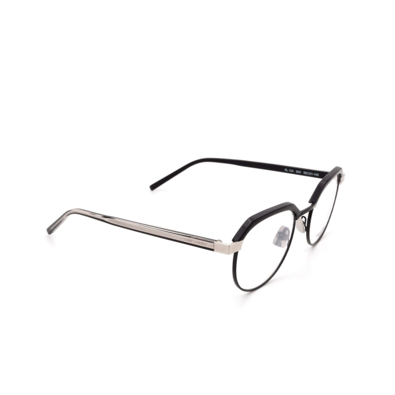 Saint Laurent® Irregular Eyeglasses: SL 124 color Black 004.