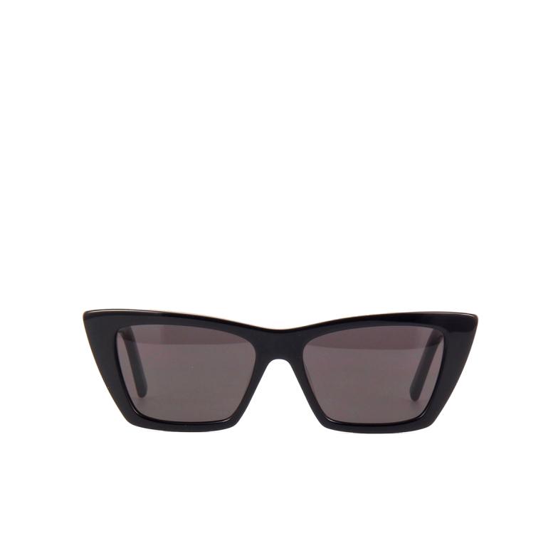 Saint Laurent® Cat-eye Sunglasses: Mica SL 276 color Black 001.
