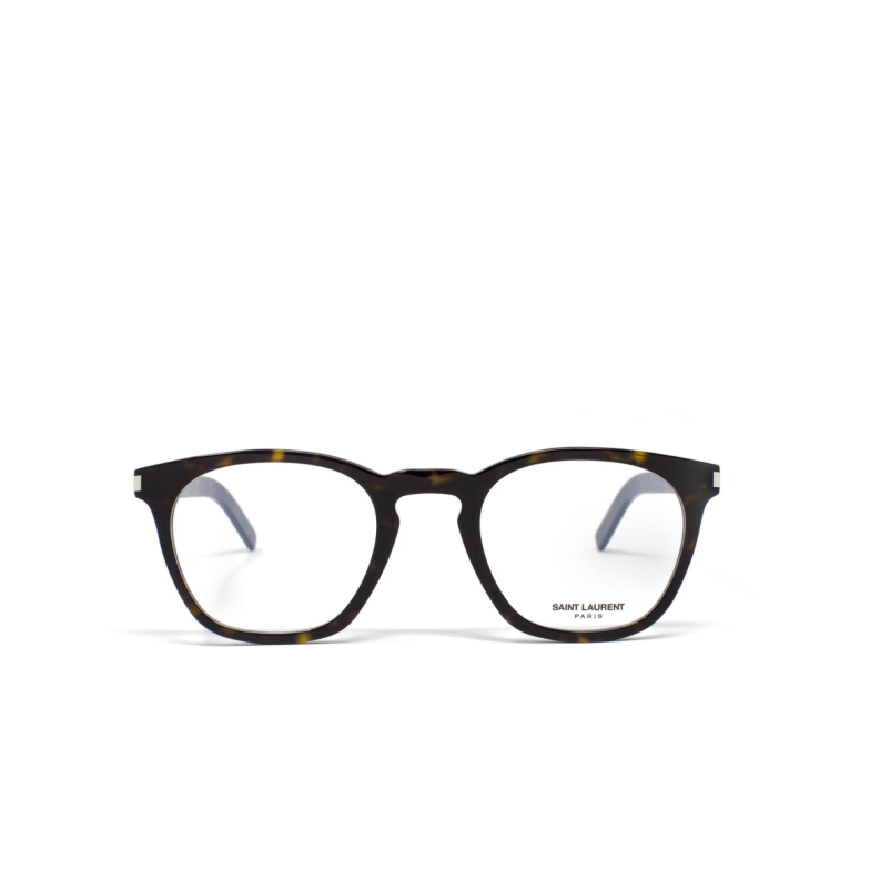 Saint Laurent® Square Eyeglasses: SL 30 SLIM color Havana 003.