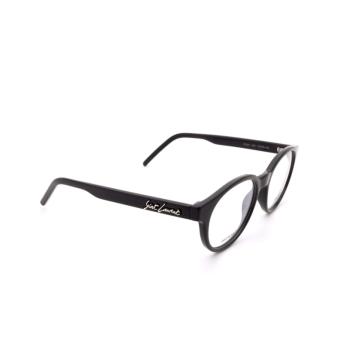 Saint Laurent® Round Eyeglasses: SL 321 color Black 001.