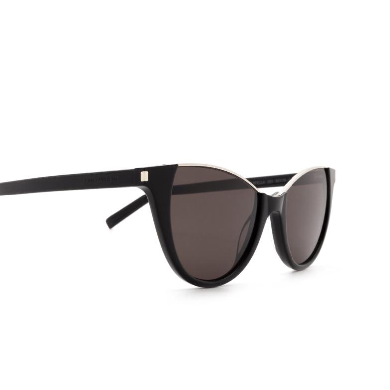 Saint Laurent® Cat-eye Sunglasses: Stella SL 368 color Black 001.