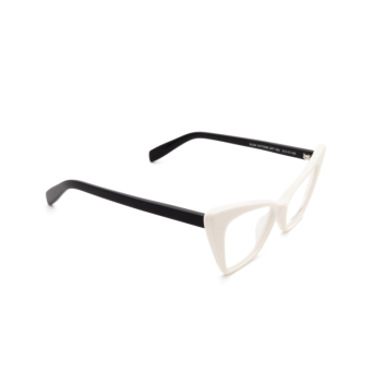Saint Laurent® Cat-eye Eyeglasses: Victoire SL 244 OPT color White 002.