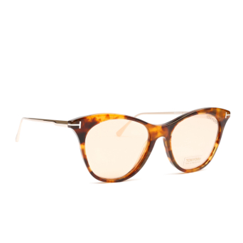 Tom Ford® Cat-eye Sunglasses: FT0662 color Brown 55G.