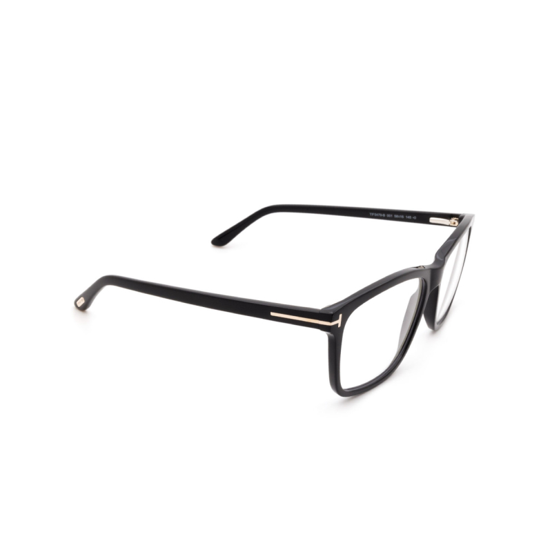 Tom Ford® Square Eyeglasses: FT5479-B color Shiny Black 001.