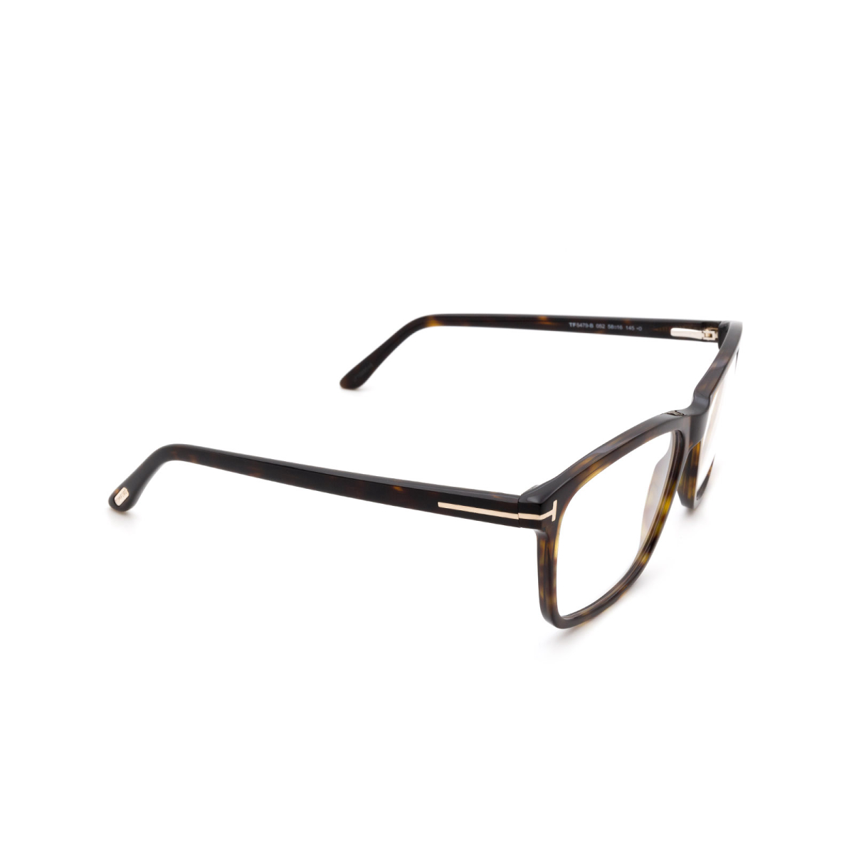 Tom Ford® Square Eyeglasses: FT5479-B color Dark Havana 052.