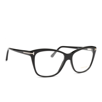 Tom Ford® Square Eyeglasses: FT5512 color Black 001.
