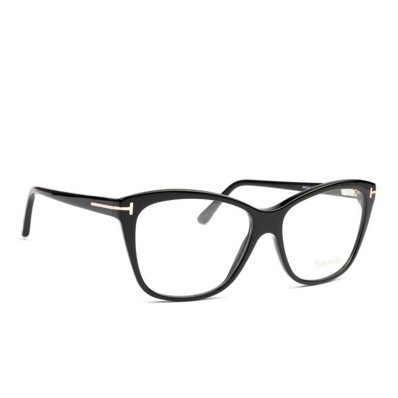 Tom Ford® Square Eyeglasses: FT5512 color Black 001.