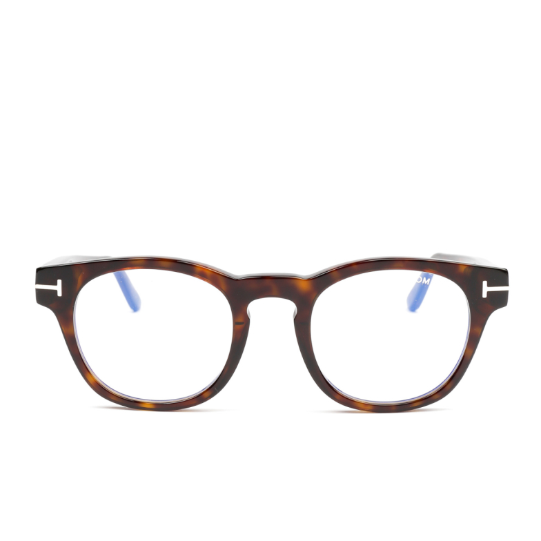 Tom Ford® Square Eyeglasses: FT5543-B color Dark Havana 052.