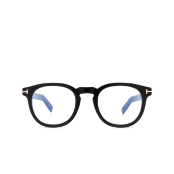 Tom Ford® Square Eyeglasses: FT5629-B color Shiny Black 001.