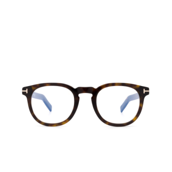 Tom Ford® Square Eyeglasses: FT5629-B color Dark Havana 052.