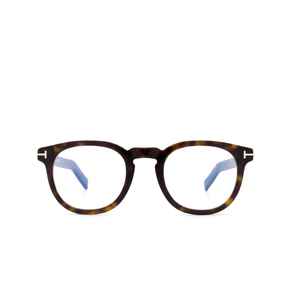 Tom Ford® Square Eyeglasses: FT5629-B color Dark Havana 052.