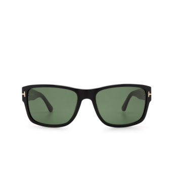 Tom Ford® Square Sunglasses: Mason FT0445 color Black 01N.