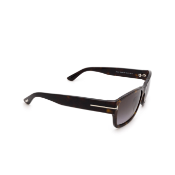Tom Ford® Square Sunglasses: Mason FT0445 color Havana 52B.
