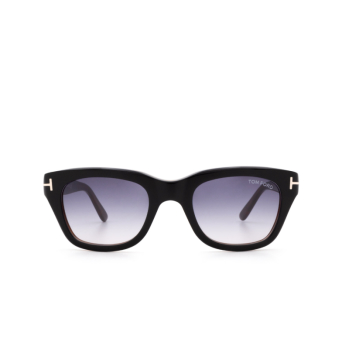 Tom Ford® Square Sunglasses: Snowdon FT0237 color Black 05B.