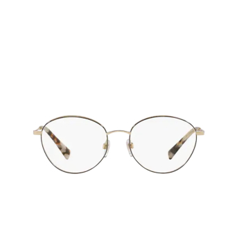 Valentino® Oval Eyeglasses: VA1003 color Pale Gold / Black 3003.