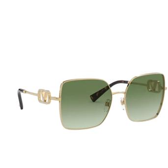 Valentino® Square Sunglasses: VA2041 color Gold 30028E.