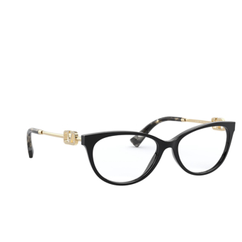 Valentino® Cat-eye Eyeglasses: VA3051 color Black 5001.