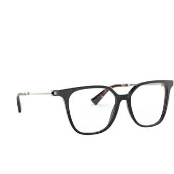 Valentino® Square Eyeglasses: VA3055 color Black 5001.