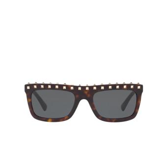 Valentino® Rectangle Sunglasses: VA4010 color Havana 500287.