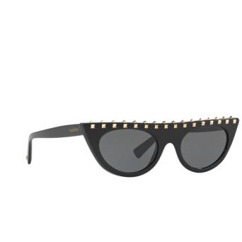 Valentino® Cat-eye Sunglasses: VA4018 color Black 500187.