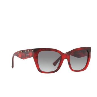 Valentino® Square Sunglasses: VA4048 color Red Havana 502011.