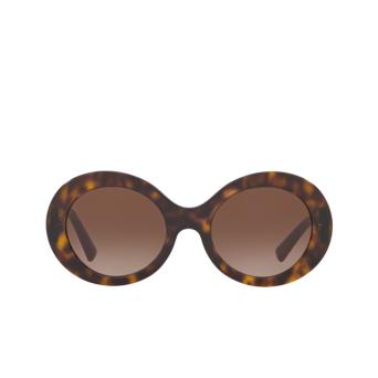 Valentino® Oval Sunglasses: VA4058 color Havana 500213.