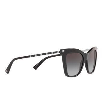 Valentino® Cat-eye Sunglasses: VA4061 color Black 50018G.