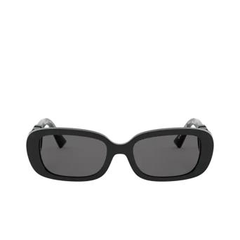 Valentino® Oval Sunglasses: VA4067 color Black 500187.