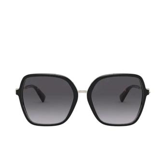 Valentino® Square Sunglasses: VA4077 color Black 50018G.