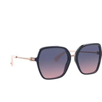 Valentino® Square Sunglasses: VA4077 color Blue 5034I6.